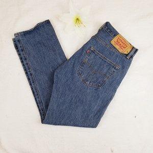 Levi's 501 men's jeans, straight leg, 32x29
